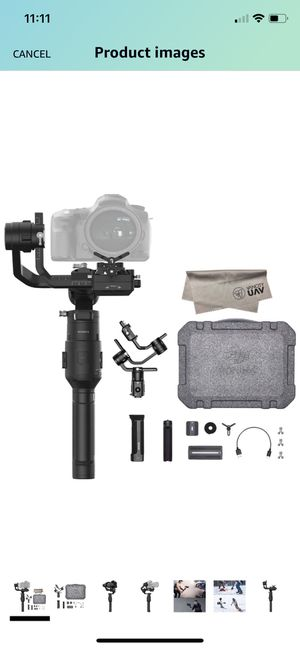 2019 DJI Ronin-S Essentials Kit 3-Axis Gimbal Stabilizer for Mirrorless and DSLR Cameras for Sale in Tampa, FL