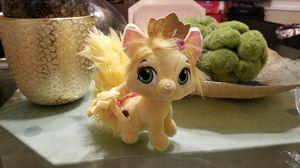 Disney Princess Palace Pets Plush Rapunzel's Kitty Summer Stuffed for Sale in Kent, WA