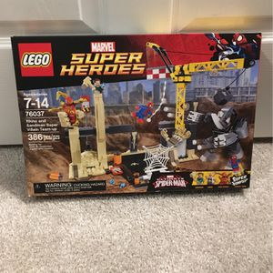 Lego Spiderman Set for Sale in New Port Richey, FL