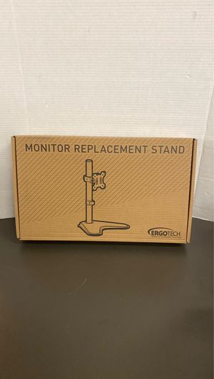 ERGOTECH Monitor Replacement Stand for Sale in Garland, TX