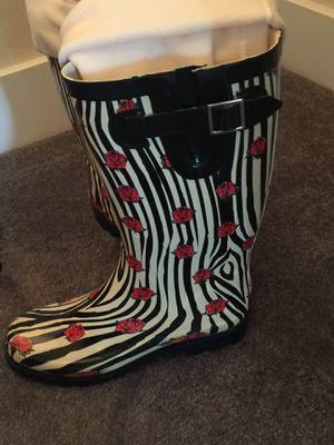 Chooka Women's ladybug rain boots size 9 NICE for Sale in Seattle, WA