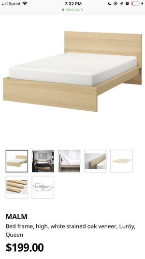 Malm Queen Bed Frame for Sale in Bellevue, WA