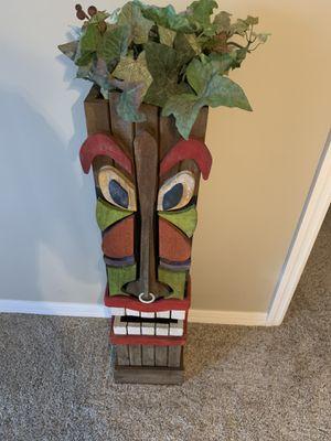 Indoor/outdoor decorative Tiki for Sale in Melbourne, FL