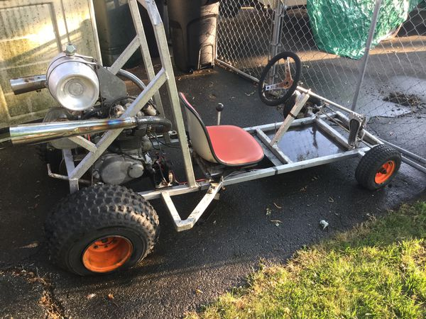 Dune Buggy Go Cart HONDA 325cc pan head late 60's early 70's engine. Needs a little TLC but ENGINE IS GREAT