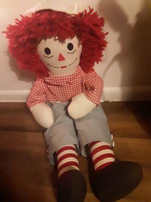 Raggedy Andy doll for Sale in Phoenix, AZ