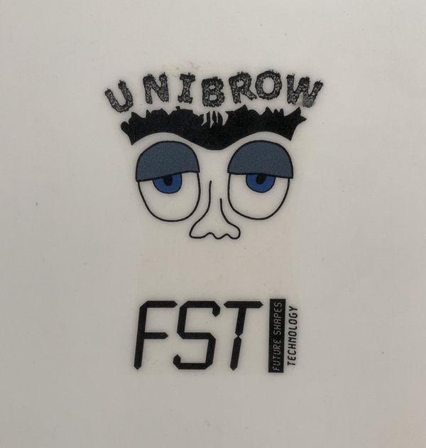 FireWire Unibrow surfboard