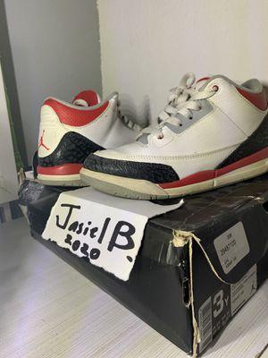 Jordan retro 3s size 3 for Sale in Dallas, TX