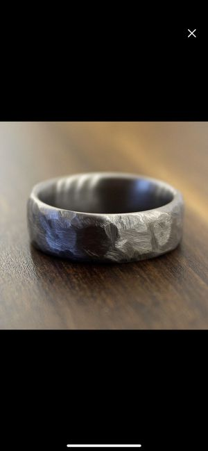 Hammered Titanium Ring for Sale in West Hollywood, CA