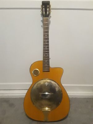 Carlo Robelli Resonator Electric Acoustic Guitar for Sale in Apple Valley, CA