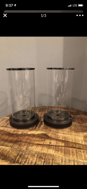White Barn candle holder set (home decor) for Sale in Easton, MA