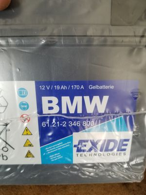 Battery for a BMW motorcycle for Sale in Tracy, CA