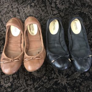 Michael Kors leather ballet flats - Size 8 for Sale in Rancho Cucamonga, CA