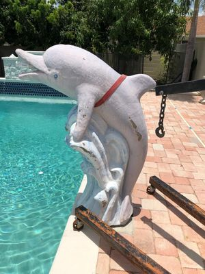 Dolphin water fountain for Sale in Orlando, FL