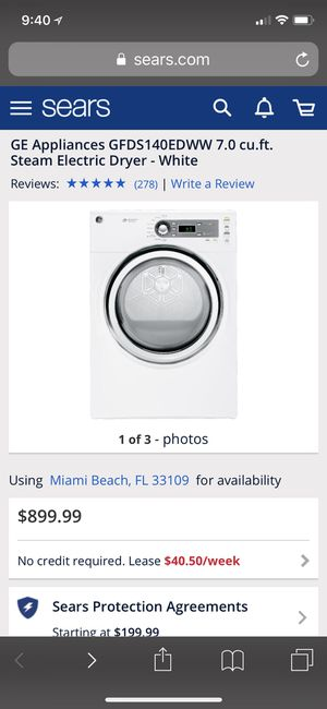 GE DRYER ONLY for Sale in Miami, FL