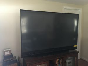 72 inch Mitsubishi TV- the Tv is available until marked sold. for Sale in MD CITY, MD