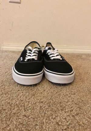Black and white vans for Sale in Vancouver, WA