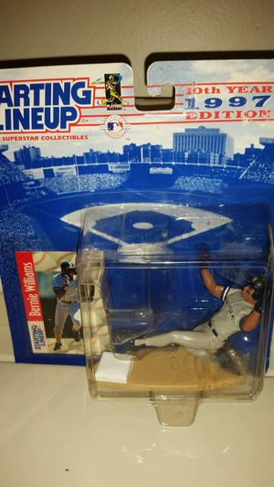 Starting lineup New York Yankees Bernie Williams. MIP for Sale in Largo, FL