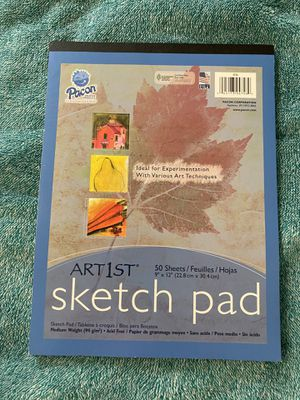 Pacon Artist Sketch Pad 50 sheets for Sale in Ithaca, NY