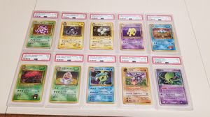 PSA graded Pokemon Cards Japanese and English for Sale in Torrance, CA