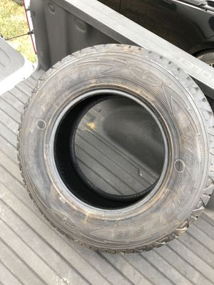 Never used Goodyear Wrangler P245/75/17 for Sale in Houston, TX