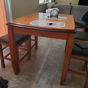 Counter height kitchen table set No Shipping No Certified Cks for Sale in Raleigh, NC
