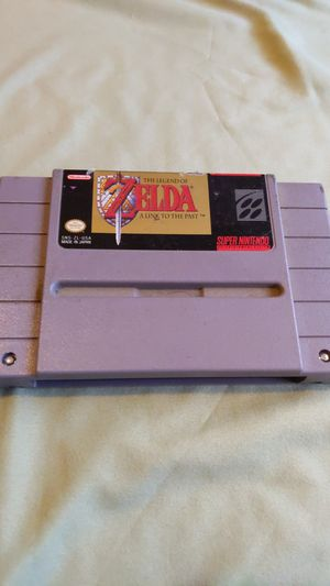 The Legend of Zelda A Link to the Past SNES Super Nintendo video game for Sale in Bassett, CA