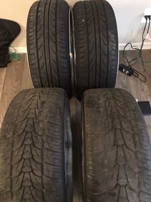 22in Rims and tires for Sale in Peachtree Corners, GA