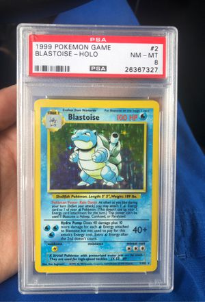 Blastoise PSA8 holo Pokémon card for Sale in West Palm Beach, FL