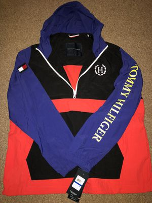 Tommy Hilfiger Rain Jacket with Hoodie 2013 for Sale in Chicago, IL