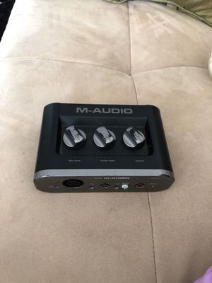 M-Audio Fast Track Digital Recording Interface for Sale for sale  Brooklyn, NY