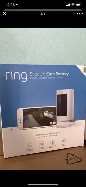 Ring Stick Up Cam Battery for Sale in Los Angeles, CA