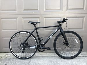 Gorgeous Fortified Road Bike (Dual brake discs), with helmet and lock ! for Sale in Orlando, FL