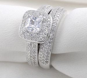 2.26 Ct AAA Cubic Zirconia Sterling Silver Ring for Sale in El Monte, CA