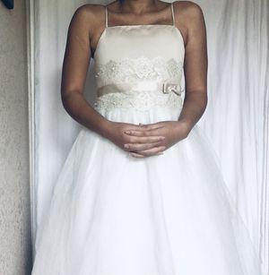 Davids bridal flower girl dress for Sale in New Orleans, LA