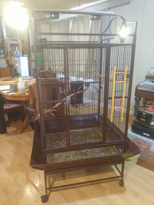 Parrot Bird cage for Sale in Peoria, IL
