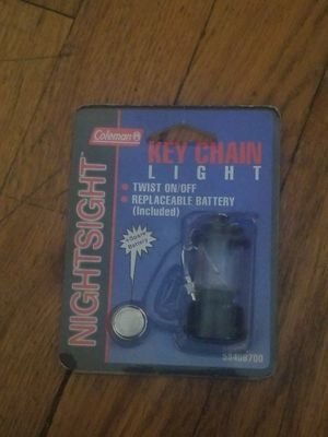 Coleman Camping Light Key Chain for Sale in Denver, CO