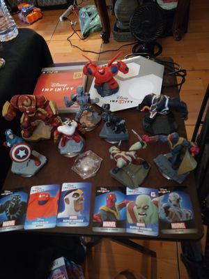 PlayStation Disney infinity marvel super heroes set 2 for Sale in San Diego, CA