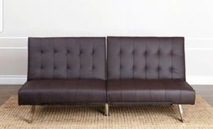The Jackson Faux Leather Futon Sofa for Sale in San Diego, CA