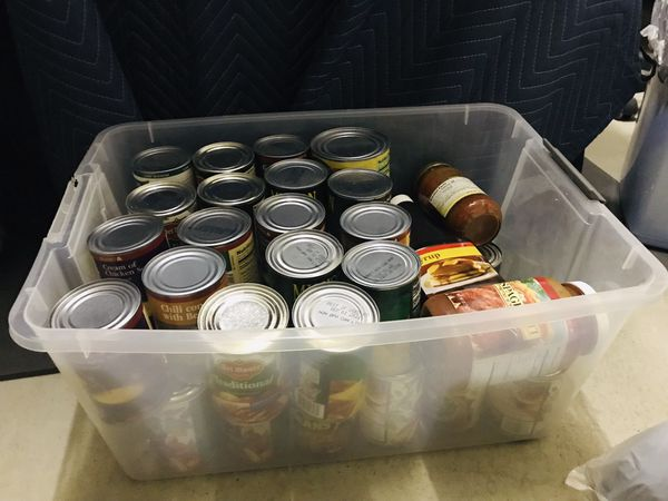 FREE CANNED FOOD ALL GOOD TILL 2021 !!