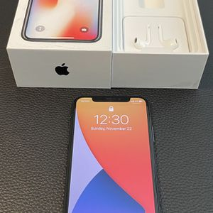 iPhone X, Space Gray, 64GB for Sale in Tempe, AZ