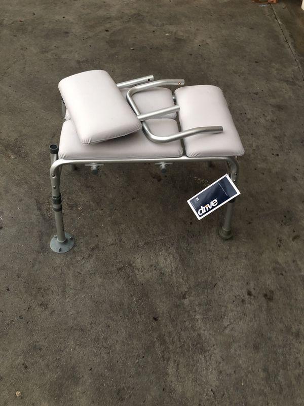 Transfer free free Bench. silla semi nueva para discapasitado