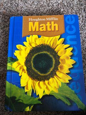 5/6 graders Houghton Mifflin Math book for Sale in Herndon, VA