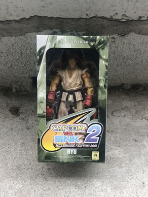CapCom vs. SNK 2 action figure Ryu READ DESCRIPTION for Sale in Los Angeles, CA