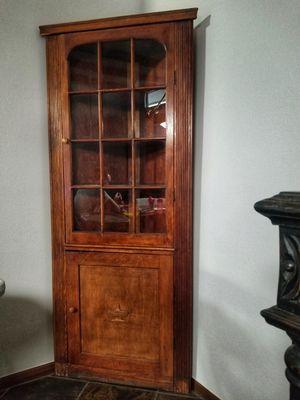 Antique Oak Corner Cabinet for Sale in Phoenix, AZ