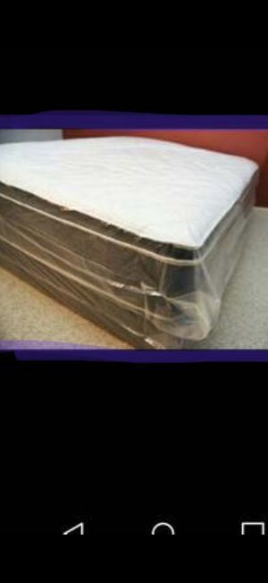 New eastern king pillow top mattress and box spring available. Delivery is available for Sale in Rio Linda, CA