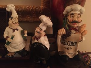 Kitchen Chef Home Decor in Great Condition for Sale in Riverside, CA