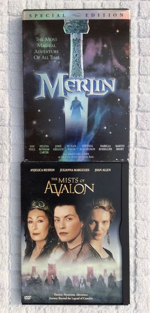 Merlin ( Special Edition ) & The Mist of Avalon DVD Bundle for Sale in Fresno, CA