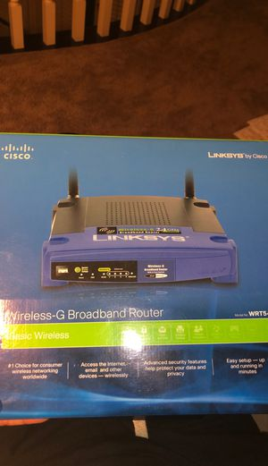 Cisco Linksys wireless-G Broadband Router for Sale in San Diego, CA