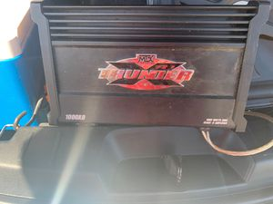 Speaker and AMP for sale... $200 OBO for Sale in Stockton, CA