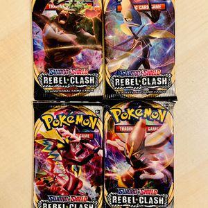 Pokemon Cards: Sword & Shield Rebel Clash Booster Pack for Sale in Irvine, CA